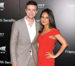 Justin Timberlake, Mila Kunis, ballo dei Marines, photo, vip, news, gossip, notizie